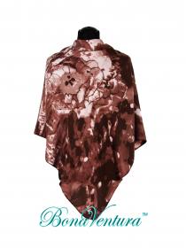BonaVentura — Платок большой, шерстяной, с печатным рисунком