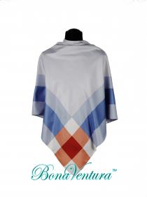 BonaVentura — Платок большой, шелковый с каймой