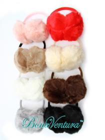 BonaVentura — Ушки зимние однотонные, искусственный мех