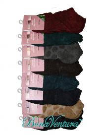 BonaVentura — Женские короткие носки махровые с бамбуковым волокном