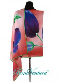 BonaVentura — Палантин с тюльпаном