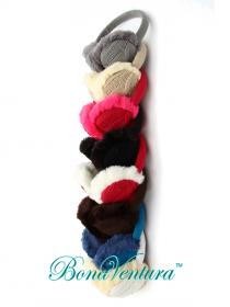 BonaVentura — Ушки зимние, крупная вязка в форме «косичка»
