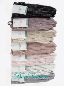 BonaVentura — Перчатки текстильные с гипюровой манжеткой