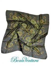 BonaVentura — Платок шифоновый шейный, с рисунком