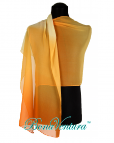 BonaVentura — Шарф шифоновый с переходом цвета, вар. 3