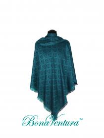 BonaVentura — Платок большой шелковый с вензелями