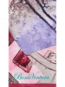 BonaVentura — Платок большой, шелковый с печатным рисунком вар.5