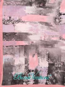 BonaVentura — Платок большой шелковый, с печатным рисунком, вар.2