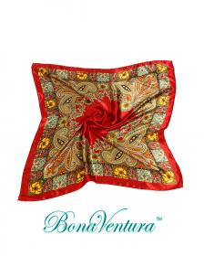 BonaVentura — Платок большой, атласный, вар.5