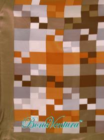BonaVentura — Платок большой шелковый, с печатным рисунком, вар.1